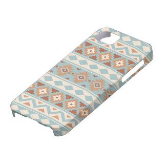 Aztec Essence Ptn IIIb Blue Cream Terracottas iPhone 5 Case