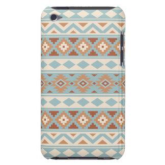 Aztec Essence Ptn IIIb Blue Cream Terracottas iPod Case-Mate Case