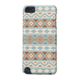 Aztec Essence Ptn IIIb Blue Cream Terracottas iPod Touch (5th Generation) Case