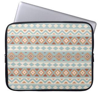 Aztec Essence Ptn IIIb Blue Cream Terracottas Laptop Sleeve