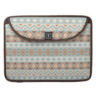 Aztec Essence Ptn IIIb Blue Cream Terracottas Sleeve For MacBook Pro