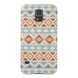 Aztec Essence Ptn IIIb Cream Blue Terracottas Galaxy S5 Case