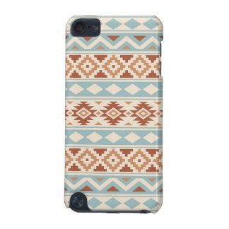 Aztec Essence Ptn IIIb Cream Blue Terracottas iPod Touch 5G Cases