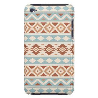 Aztec Essence Ptn IIIb Cream Blue Terracottas iPod Touch Cover