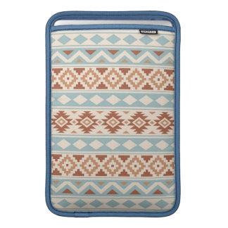 Aztec Essence Ptn IIIb Cream Blue Terracottas MacBook Sleeve