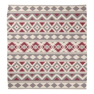 Aztec Essence Ptn IIIb Cream Taupe Red Bandana