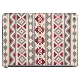 Aztec Essence Ptn IIIb Cream Taupe Red Case For iPad Air