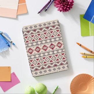 Aztec Essence Ptn IIIb Cream Taupe Red iPad Pro Cover