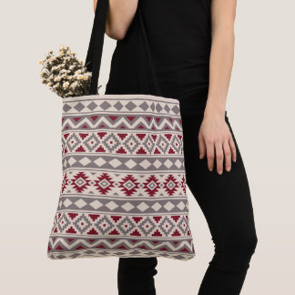 Aztec Essence Ptn IIIb Cream Taupe Red Tote Bag