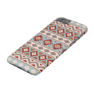 Aztec Essence Ptn IIIb Taupe Blue Crm Terracottas Barely There iPhone 6 Case