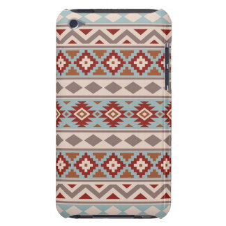 Aztec Essence Ptn IIIb Taupe Blue Crm Terracottas Barely There iPod Covers