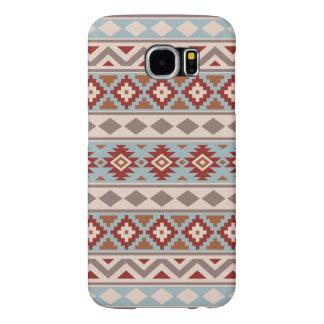 Aztec Essence Ptn IIIb Taupe Blue Crm Terracottas Samsung Galaxy S6 Case