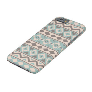 Aztec Essence Ptn IIIb Taupe Teal Cream Barely There iPhone 6 Case