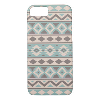 Aztec Essence Ptn IIIb Taupe Teal Cream iPhone 8/7 Case