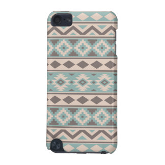 Aztec Essence Ptn IIIb Taupe Teal Cream iPod Touch (5th Generation) Covers
