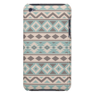 Aztec Essence Ptn IIIb Taupe Teal Cream iPod Touch Covers