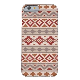 Aztec Essence Ptn IIIb Taupes Creams Terracottas Barely There iPhone 6 Case