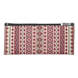 Aztec Essence V Ptn IIb Red Grays Cream Sand Pencil Case
