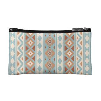 Aztec Essence V Ptn IIIb Blue Cream Terracottas Makeup Bag