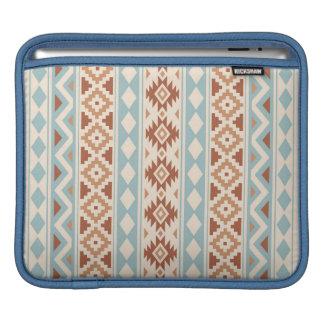 Aztec Essence V Ptn IIIb Cream Blue Terracottas iPad Sleeve