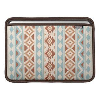 Aztec Essence V Ptn IIIb Cream Blue Terracottas MacBook Sleeve
