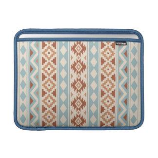Aztec Essence V Ptn IIIb Cream Blue Terracottas Sleeve For MacBook Air