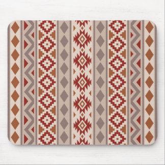 Aztec Essence V Ptn IIIb Taupes Creams Terracottas Mouse Pad