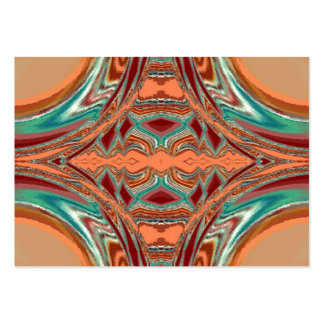 Aztec Fabric. Tribal Pattern Business Card Template