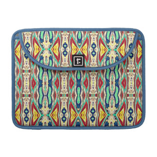 Aztec Fabric. Tribal Pattern. Native American Sleeve For MacBooks