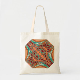 Aztec Fabric. Tribal Pattern Tote Bag