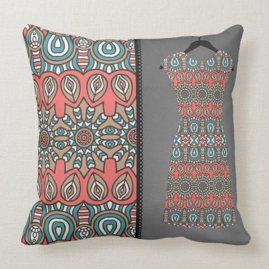 Aztec Fashion Reversible Decorative Pillow