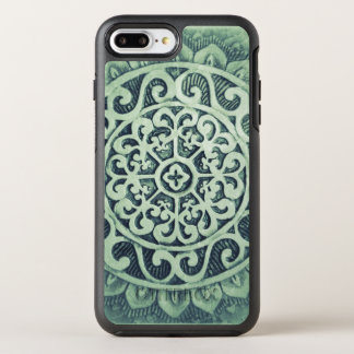 Aztec Floral Design OtterBox Symmetry iPhone 8 Plus/7 Plus Case