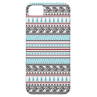 Aztec Geometric Herringbone Pattern iPhone 5 Case