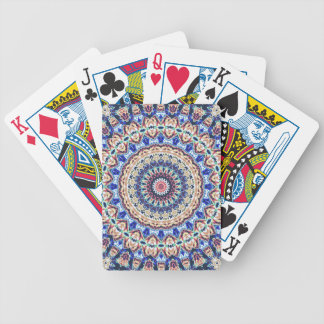 Aztec Geometry Bicycle Playing Cards