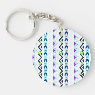 Aztec Girl Keychain