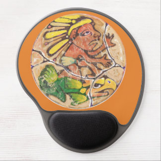 Aztec God colour - Amazing Mexico Mousepad