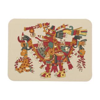 Aztec god magnet