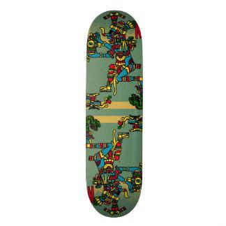 Aztec God Skateboard Deck