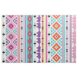 Aztec Indian Tribal pattern Fabric
