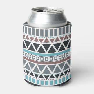 Aztec Inspired Pattern Can Cooler