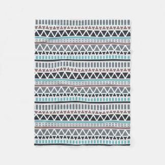 Aztec Inspired Pattern Fleece Blanket