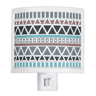Aztec Inspired Pattern Night Light