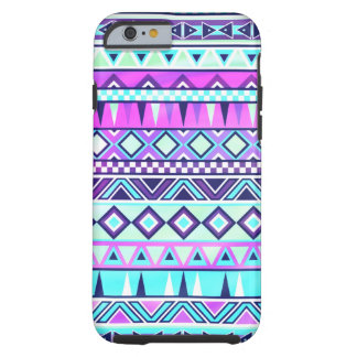 Aztec inspired pattern tough iPhone 6 case