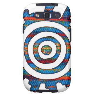 Aztec Mayan Multi-Coloured Sundial Samsung Galaxy S3 Cases