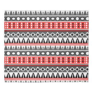 Aztec native pattern duvet cover