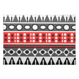 Aztec native pattern placemat