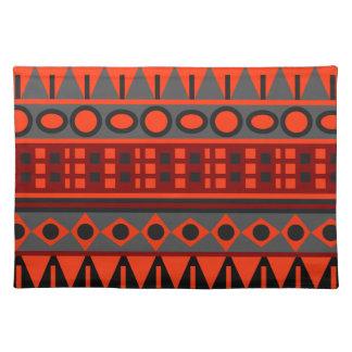 Aztec native pattern placemat