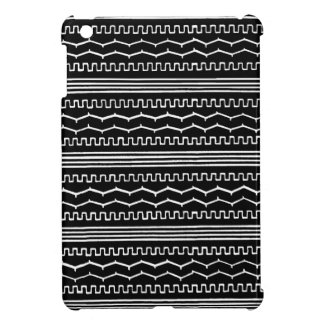 AZTEC NIGHT : Monochrome series Cover For The iPad Mini
