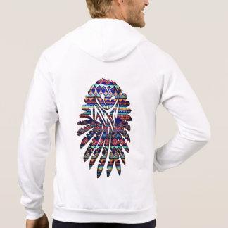Aztec Owl Hoodie