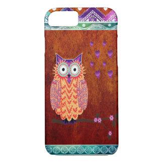Aztec Owl iPhone 7 Case